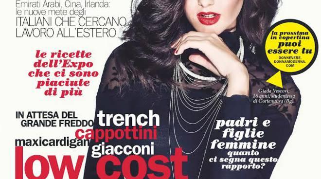 Giada Vescovi di Cortenuova in copertina su Donna Moderna