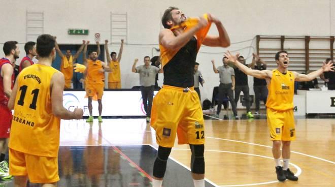 Grande vittoria per la Bergamo Basket