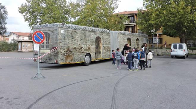 Il bus del tempo a Castelli Calepio