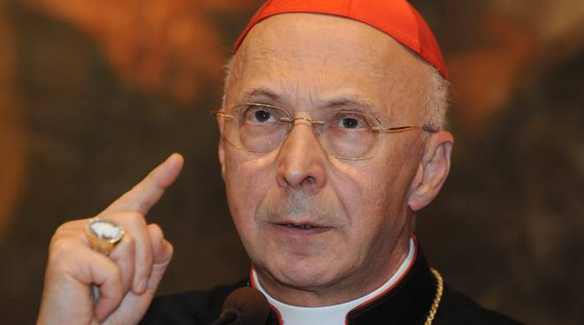 Il cardinale Angelo Bagnasco,