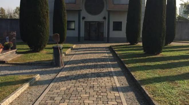Il cimitero di Canonica d'Adda rimesso a nuovo