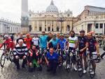 Il gruppo arrivato a Roma