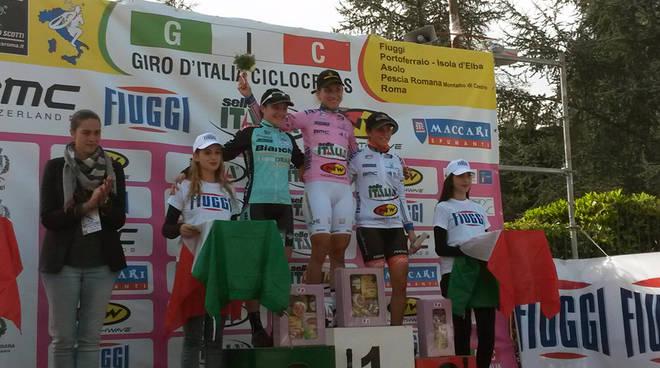 Il podio a Fiuggi: Chiara Teocchi è seconda