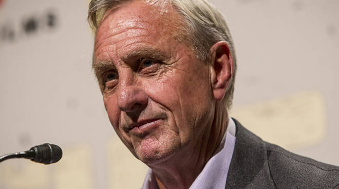 Johna Cruijff ha un cancro ai polmoni