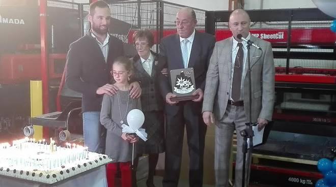 La festa per i sessant'anni della Carobbio