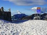 La neve impone la chiusura del Passo San Marco (foto d'archivio da valbrembanaweb.com)
