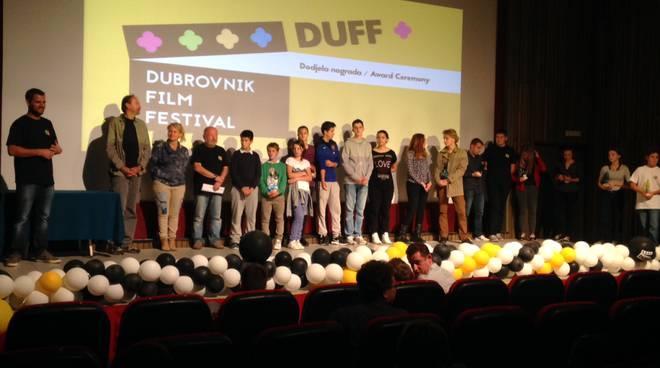 La premiazione al Dubrovnik Film Festival