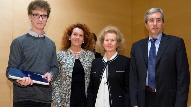 La premiazione del premio Colleoni Ance del 2014