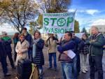 La protesta della lega al Gleno
