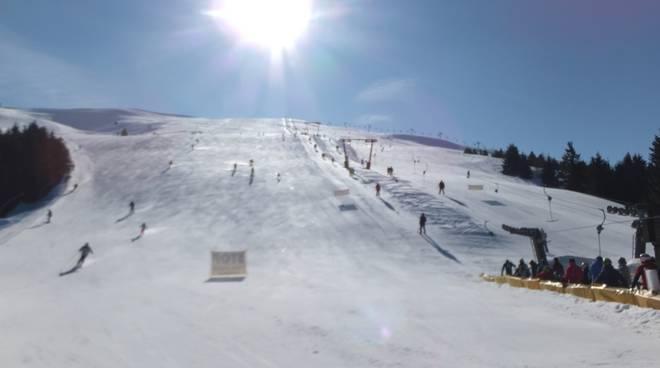 Le pista da sci del Monte Pora