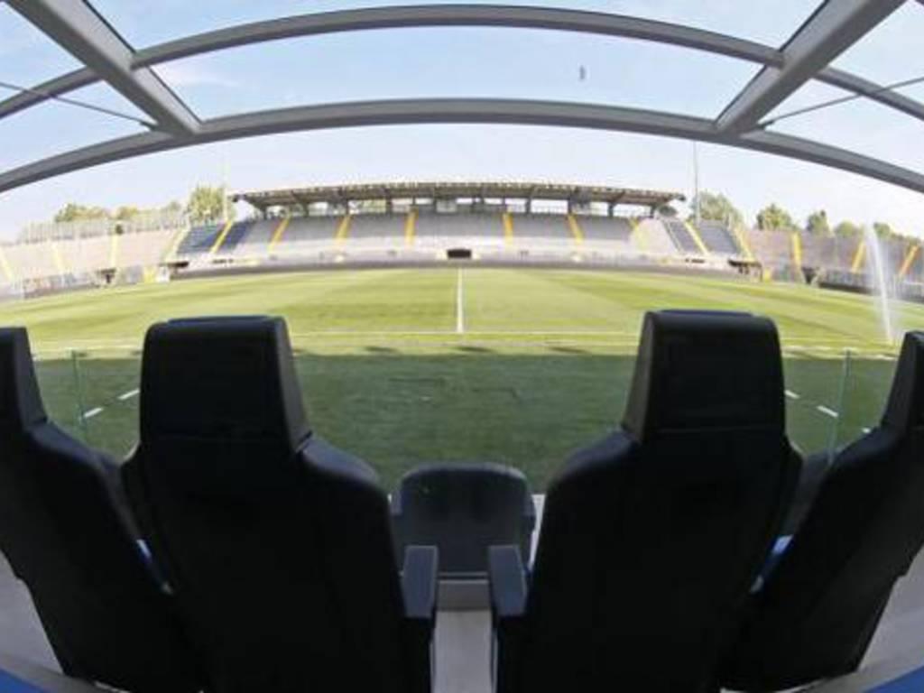 Lo stadio Comunale di Bergamo