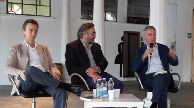 Marco Maroni, Davide Agazzi e Gianni Barbacetto