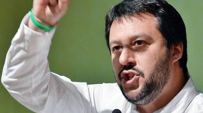 Matteo Salvini, leader della Lega Nord