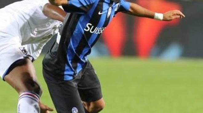 Maxi Moralez in azione contro la Juventus