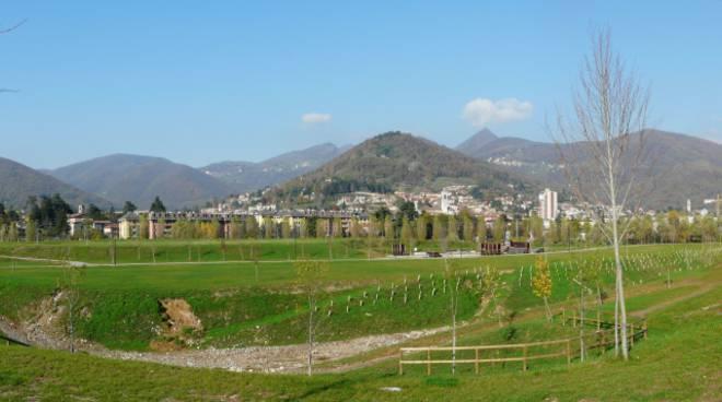Panorama di Alzano Lombardo