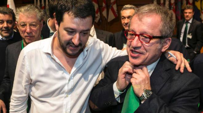 Salvini e Maroni