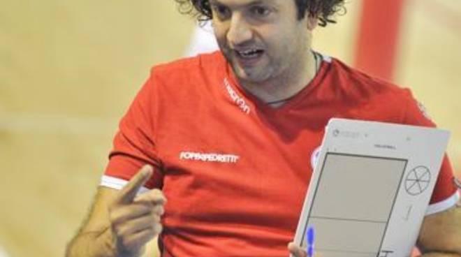 Stefano Lavarini, coach della Foppa