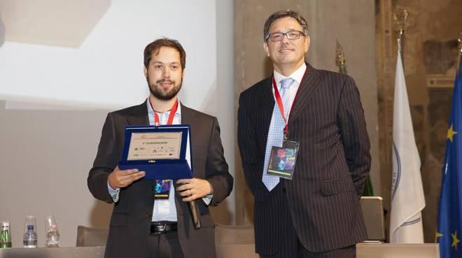 Stefano Vismara premiato a Start Cup Bergamo
