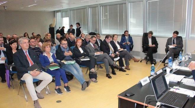 Un momento del Comitato paritetico di controllo
