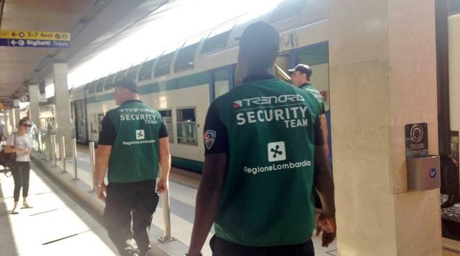 Vigilantes in stazione a Bergamo