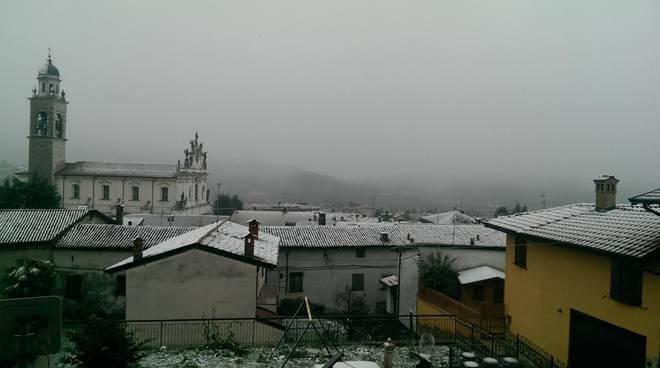 23 novembre - Prima neve su Bergamo