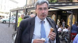 Beppe Pezzoni il giorno della sua elezione a sindaco di Treviglio