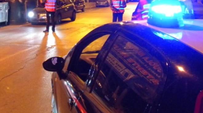 Blitz delle forze dell'ordine a Bergamo
