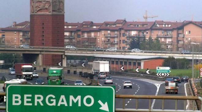 Chiude giovedì notte il casello di Bergamo