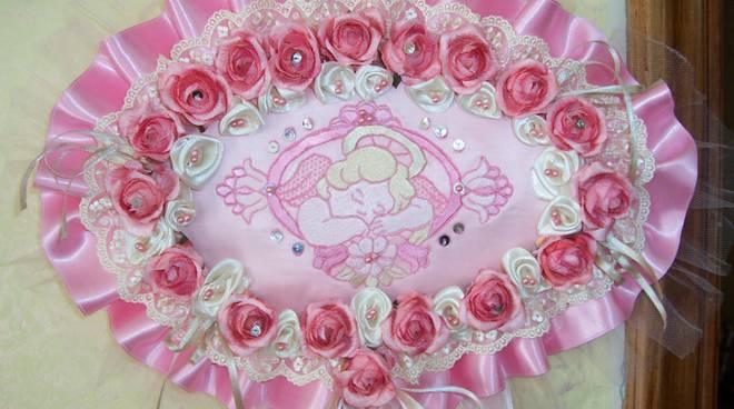 Fiocco rosa bimba