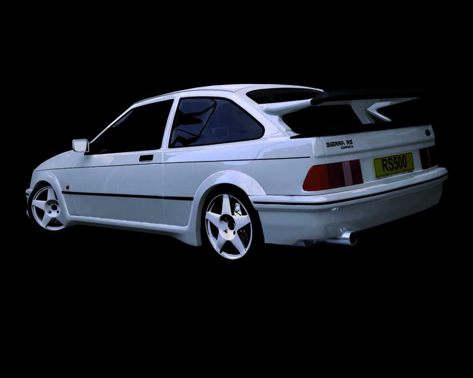 Ford Sierra RS Cosworth, inguardabile ma potente