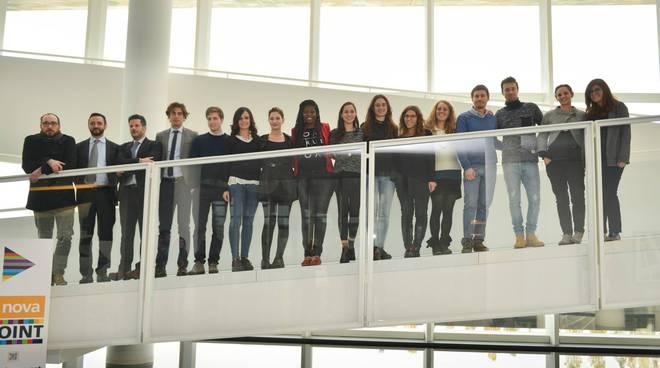 Gli studenti dell'Università di Bergamo all'i.Lab Italcementi