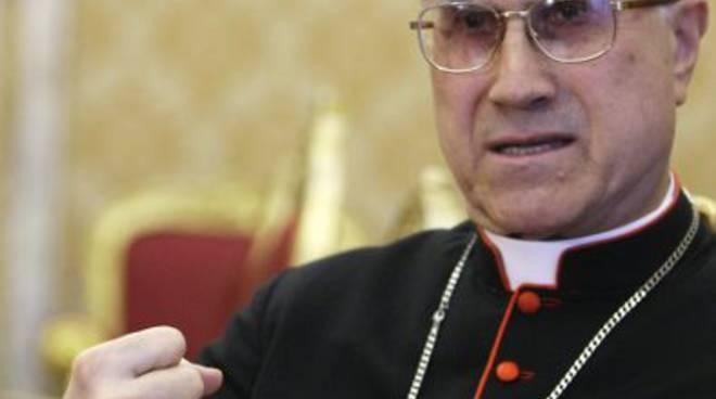 Il cardinale Tarcisio Bertone
