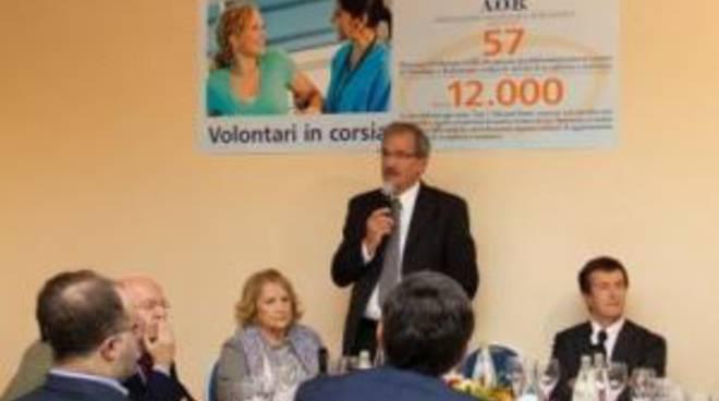 Il sindaco Gori all'incontro dell'associazione oncologica