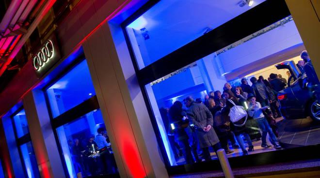 Inaugurazione della concessionaria Audi a Garlate