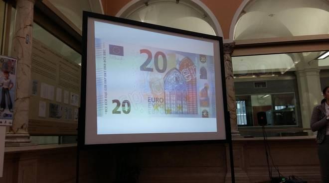 La nuova banconota da 20 euro
