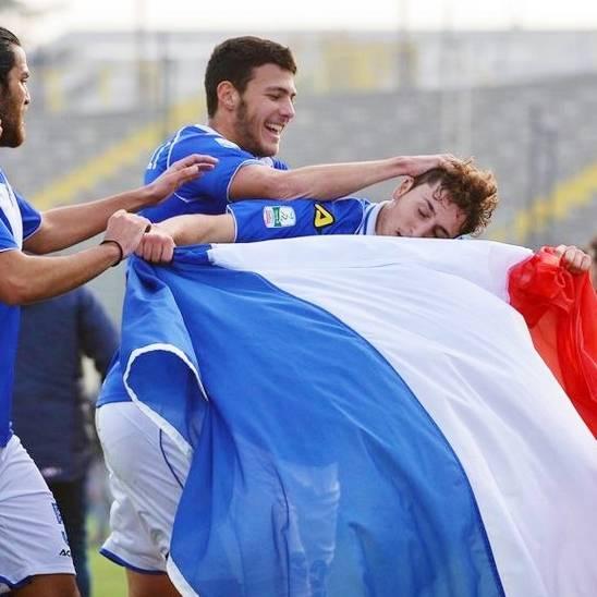 Leonardo Morosini con la bandiera francese