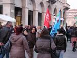 Manifestazione dei lavoratori della grande distribuzione