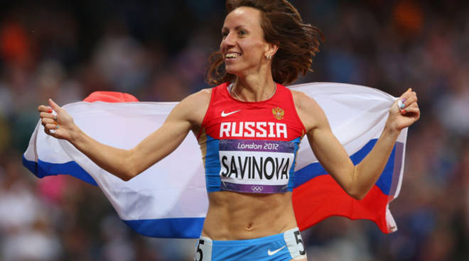 Marya Savinova, oro a Londra 2012