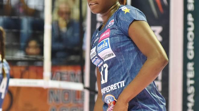 Miriam Sylla, giovane stella della Foppa