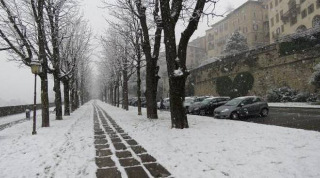Neve a Bergamo