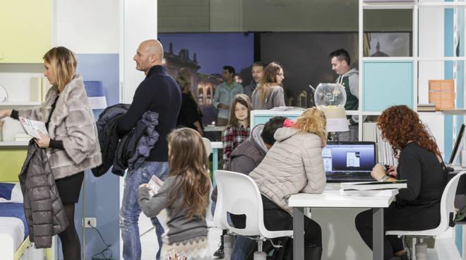Salone del Mobile alla fiera di Bergamo