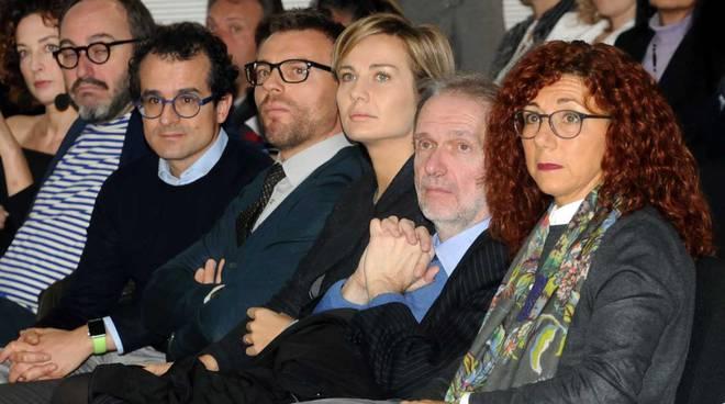Un momento della premiazione ad Expo Milano