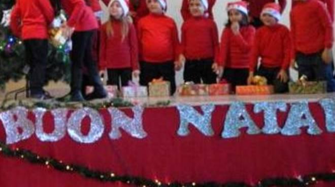 Un recita natalizia a scuola