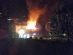 incendio alzano lombardo villetta