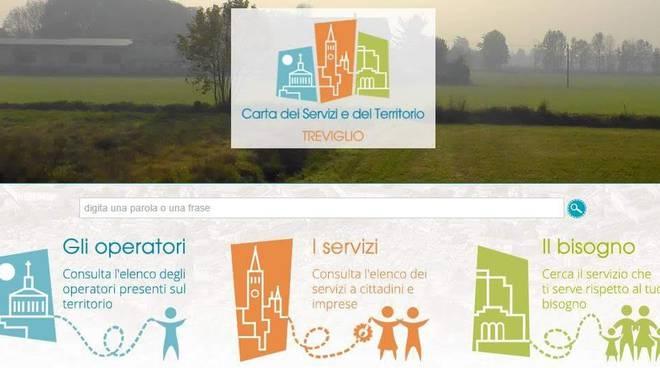 carta servizi Treviglio