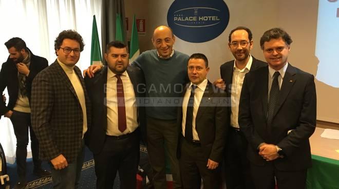 Congresso forza Italia bergamo 2016