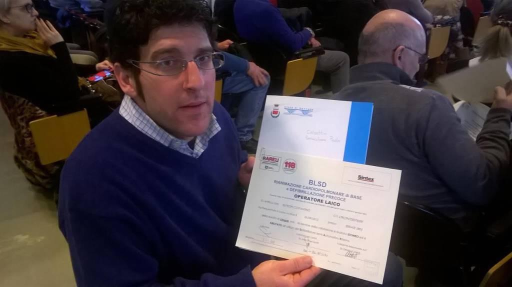 Diploma soccorritore