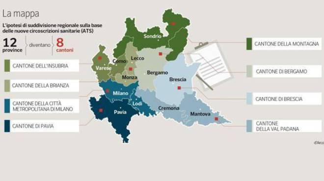 Regione, Maroni sulle riforme: