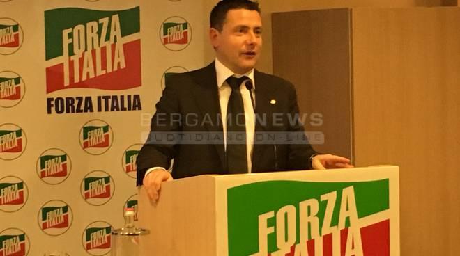 Paolo franco coordinatore forza Italia bergamo