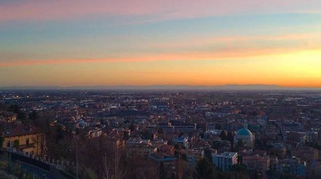 tramonto bergamo
